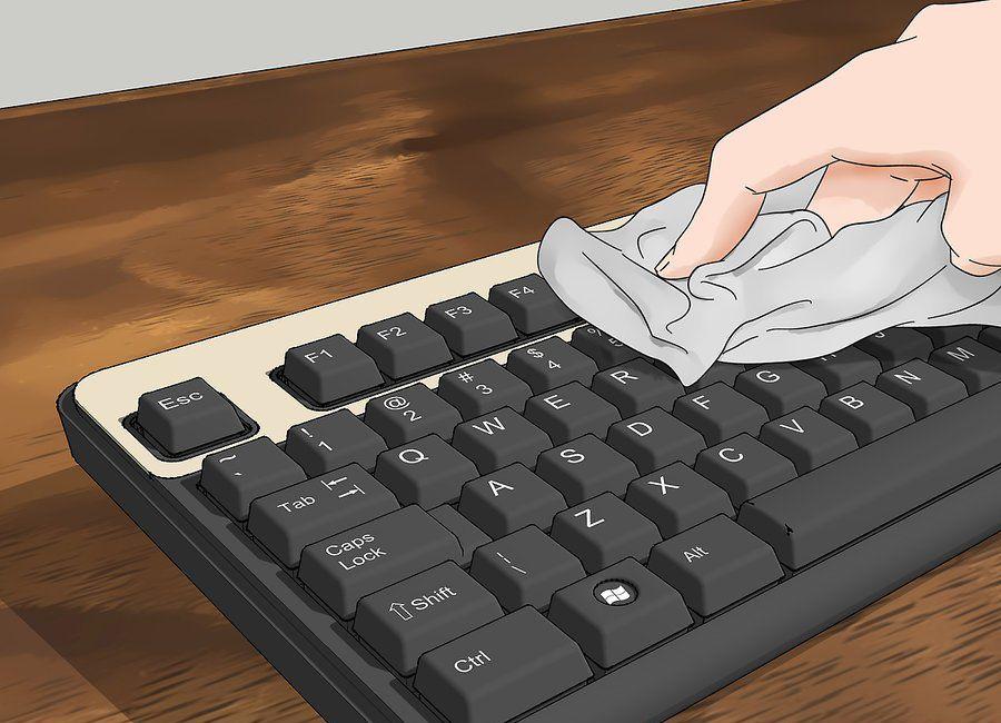 how to clean keycaps 22346578 - چگونه کیبورد کامپیوتر را تمیز کنیم؟