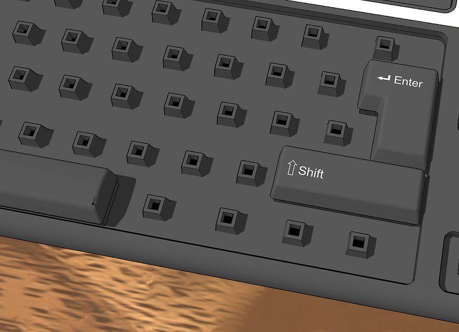 how to clean keycaps 42565765 - چگونه کیبورد کامپیوتر را تمیز کنیم؟
