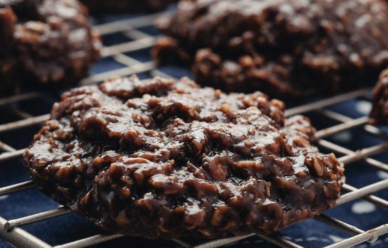 how to make no bake peabut butter cookies 54765756756 - چگونه بدون فِر شیرینی کره بادام زمینی بپزیم؟