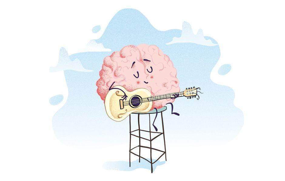 how playing guitar affects the guitarists brain 76687686234 compressed - چگونه گیتار زدن بر مغز گیتاریست تاثیر میگذارد؟