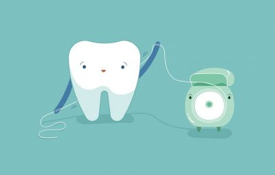 how to floss 43567578 compressed - چگونه نخ دندان بکشیم؟