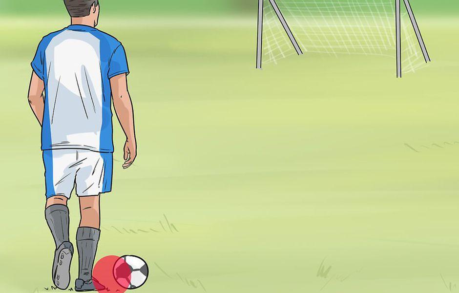 how to kick a soccer ball hard 45435435 - چگونه در فوتبال یک شوت محکم بزنیم؟