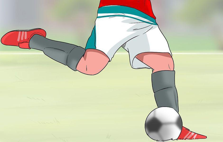 how to kick a soccer ball hard 456678798 - چگونه در فوتبال یک شوت محکم بزنیم؟