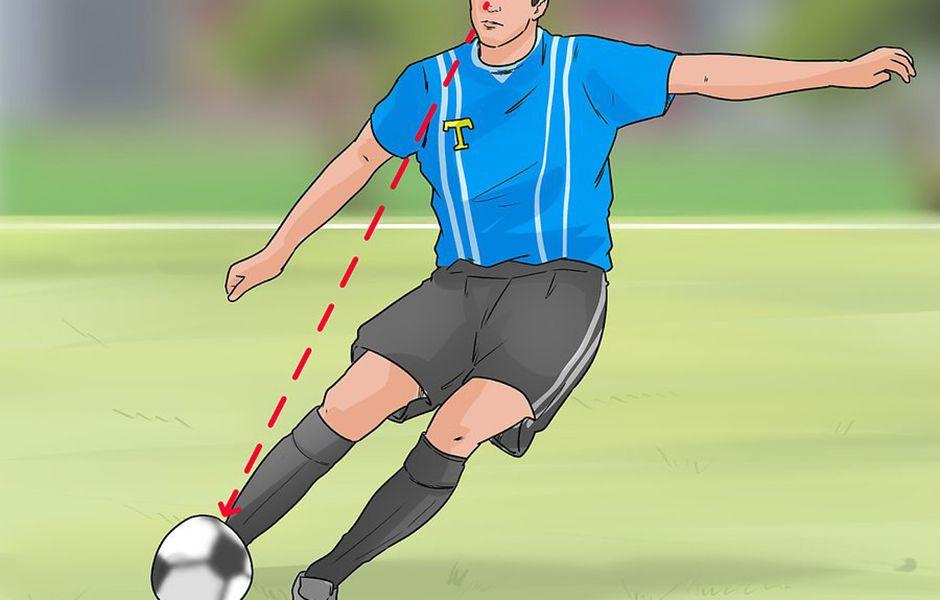 how to kick a soccer ball hard 4567435678 - چگونه در فوتبال یک شوت محکم بزنیم؟