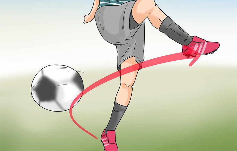 how to kick a soccer ball hard 456765432 - چگونه در فوتبال یک شوت محکم بزنیم؟