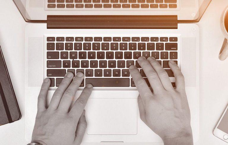 چگونه ده انگشتی تایپ کنیم؟