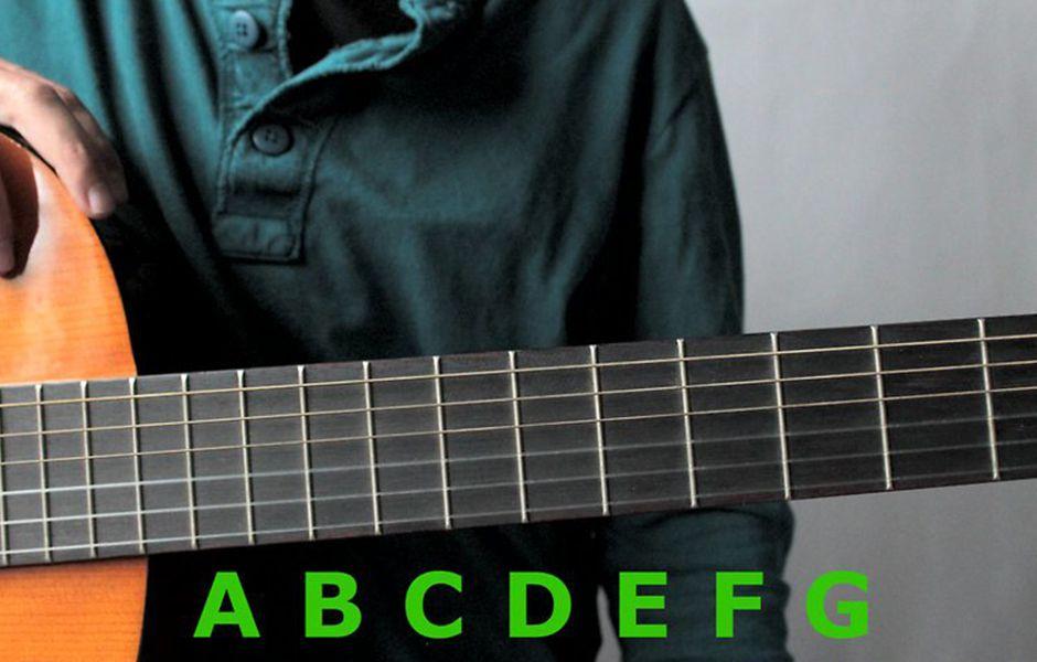 how to learn guitar notes 8765345678 - چگونه نت های گیتار را یاد بگیریم؟