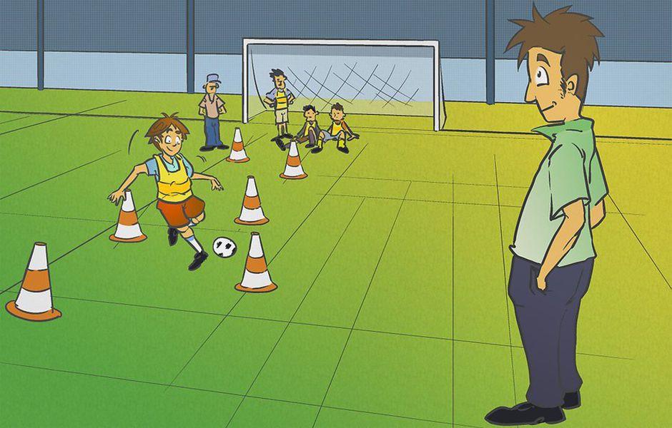 how to turn your child into a soccer star 2342343434 - چگونه از کودک خود یک فوتبالیست حرفه ای بسازیم؟