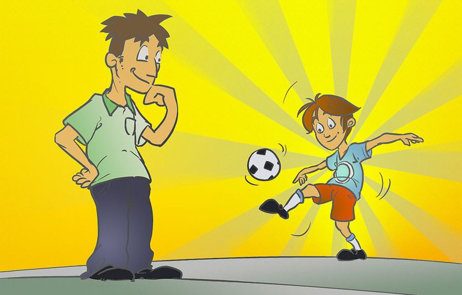 how to turn your child into a soccer star 3242343234 - چگونه از کودک خود یک فوتبالیست حرفه ای بسازیم؟