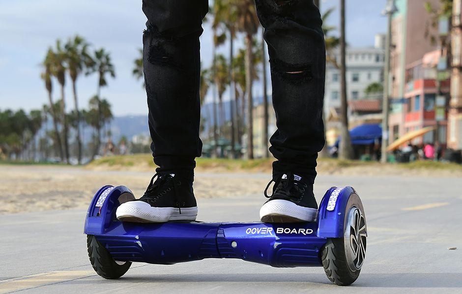 how to ride a hoverboard two wheeled scooter 467879890 - چگونه از اسکوتر برقی استفاده کنیم؟