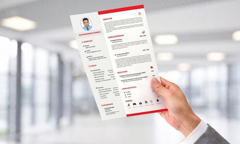 how to make a resume 5532232346 780x470 - چگونه یک رزومه کاری خوب بنویسیم؟
